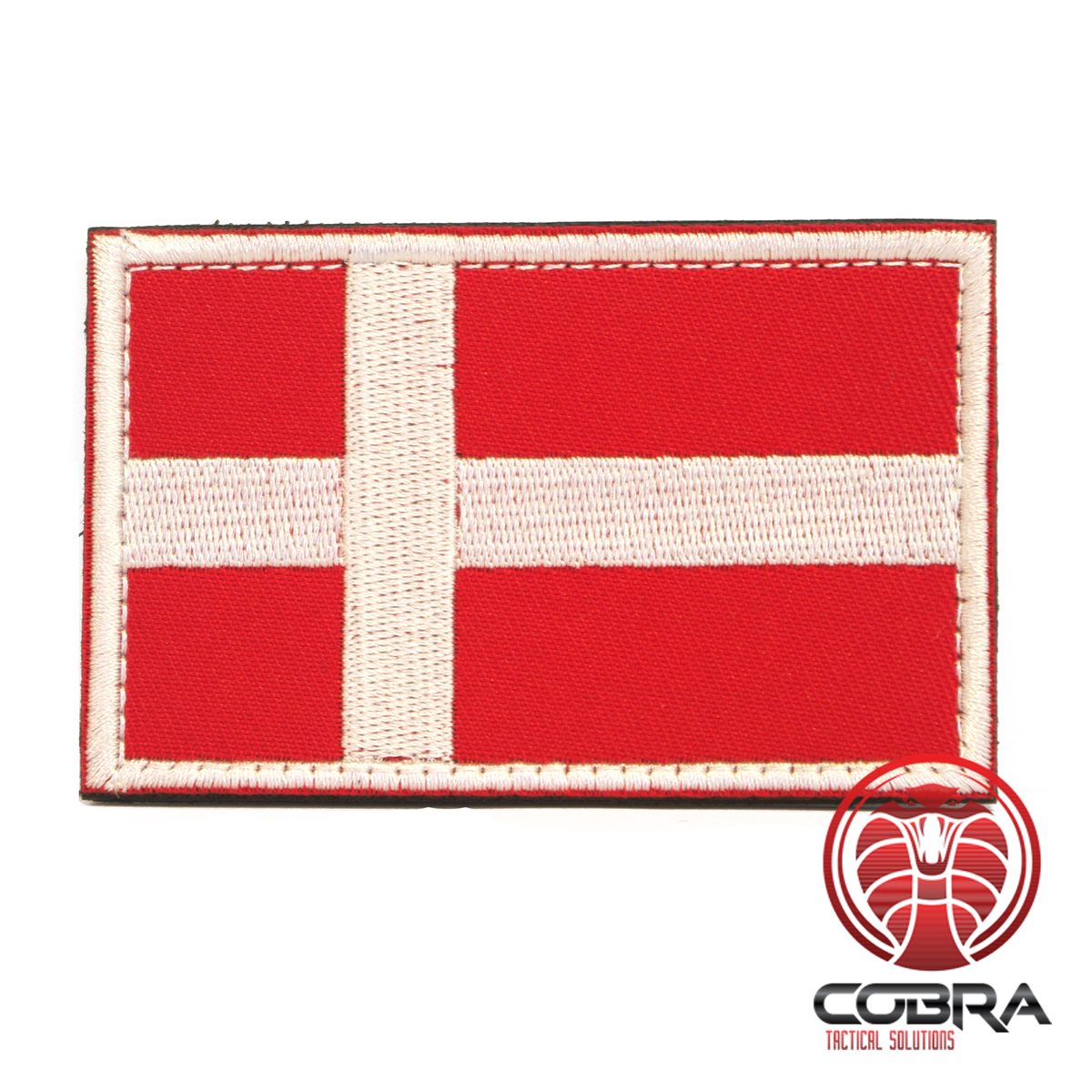 Military patch flag Denmark with velcro | Airsoft | Military