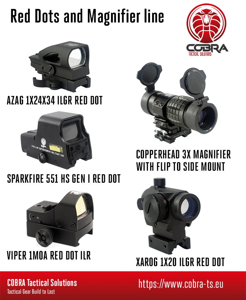 Cobra Tactical Solutions Viper 1MOA RED DOT ILR